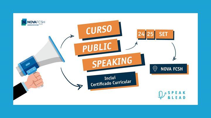 Curso Public Speaking - NOVA FCSH