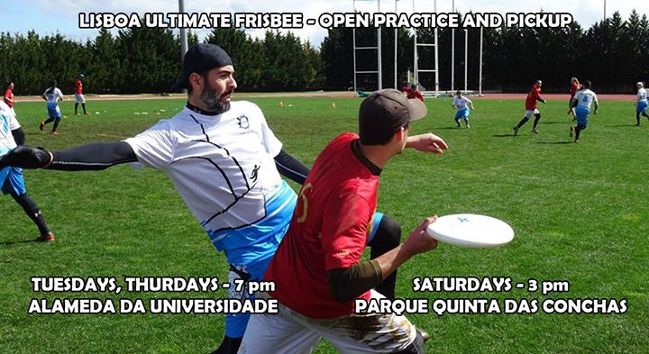 Thursday Lisbon Ultimate Frisbee Practice * 2018/19 - 95
