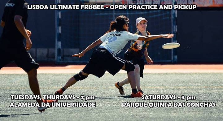Tuesday Lisbon Ultimate Frisbee Practice * 2018/19 - 94