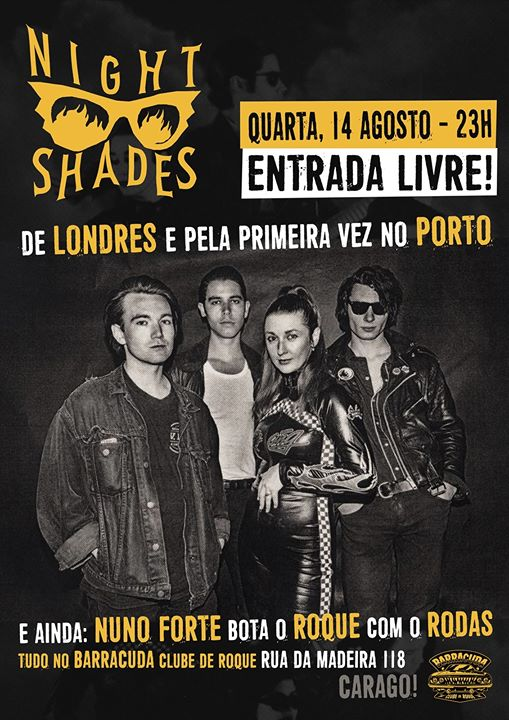 Night Shades (uk), Alternadores de discos: Nuno Forte & Rodas