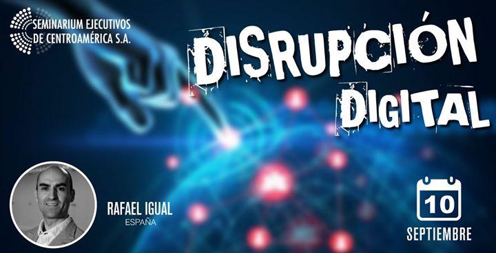 Conferencia Internacional Disrupción Digital