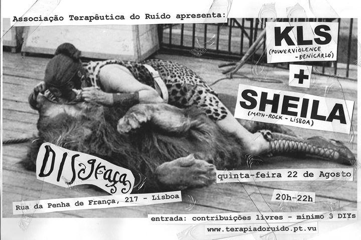ATR apresenta: KLS + Sheila