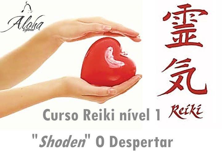 Curso Reiki nível 1 'Shoden' O Despertar - Sintra