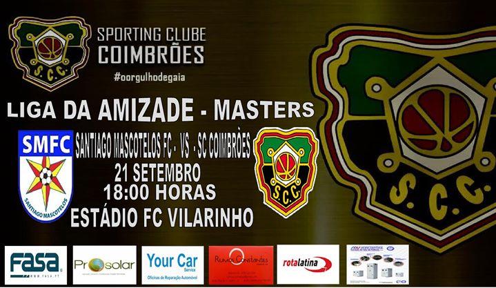 Santiago Mascotelos FC vs. SC Coimbrões Veteranos