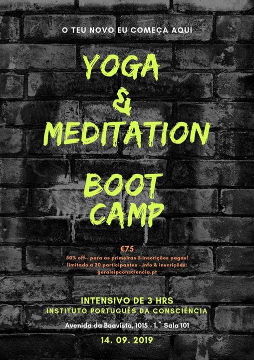 Yoga & Meditation Boot Camp