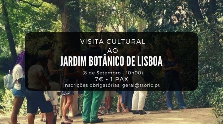 Visita guiada ao Jardim Botânico de Lisboa