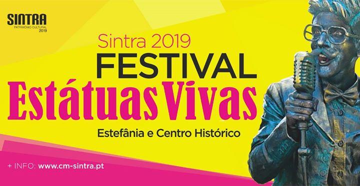Festival de Estátuas Vivas - Sintra 2019 | 24 e 25 de agosto