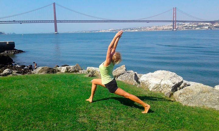 Caminhada com Yoga à beira do Tejo