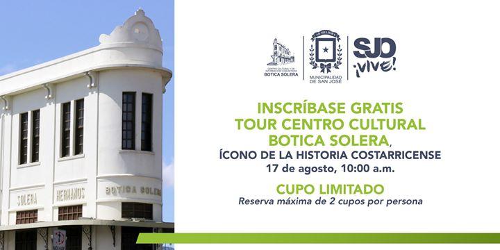 Tour Gratuito Centro Cultural Botica Soleta