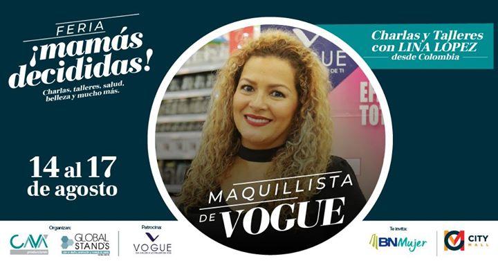 Maquillista Lina López