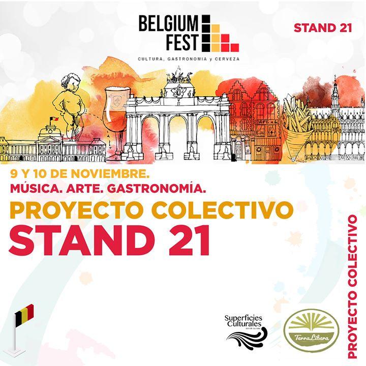 Mercadito arte-diseño y gourmet en Belgium Fest Costa Rica 2019