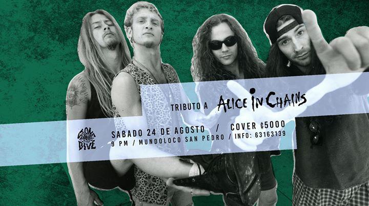 Tributo a Alice In Chains en Mundoloco San Pedro