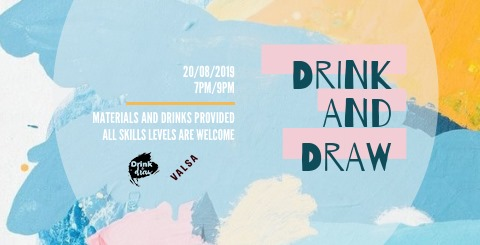 Drink and Draw no Valsa!