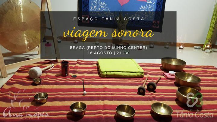 Viagem Sonora - Concerto Com Taças Terapêuticas