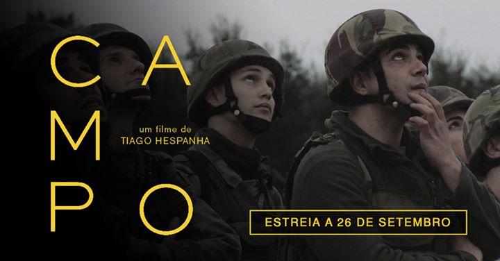 Campo - estreia dia 26 de setembro nos cinemas