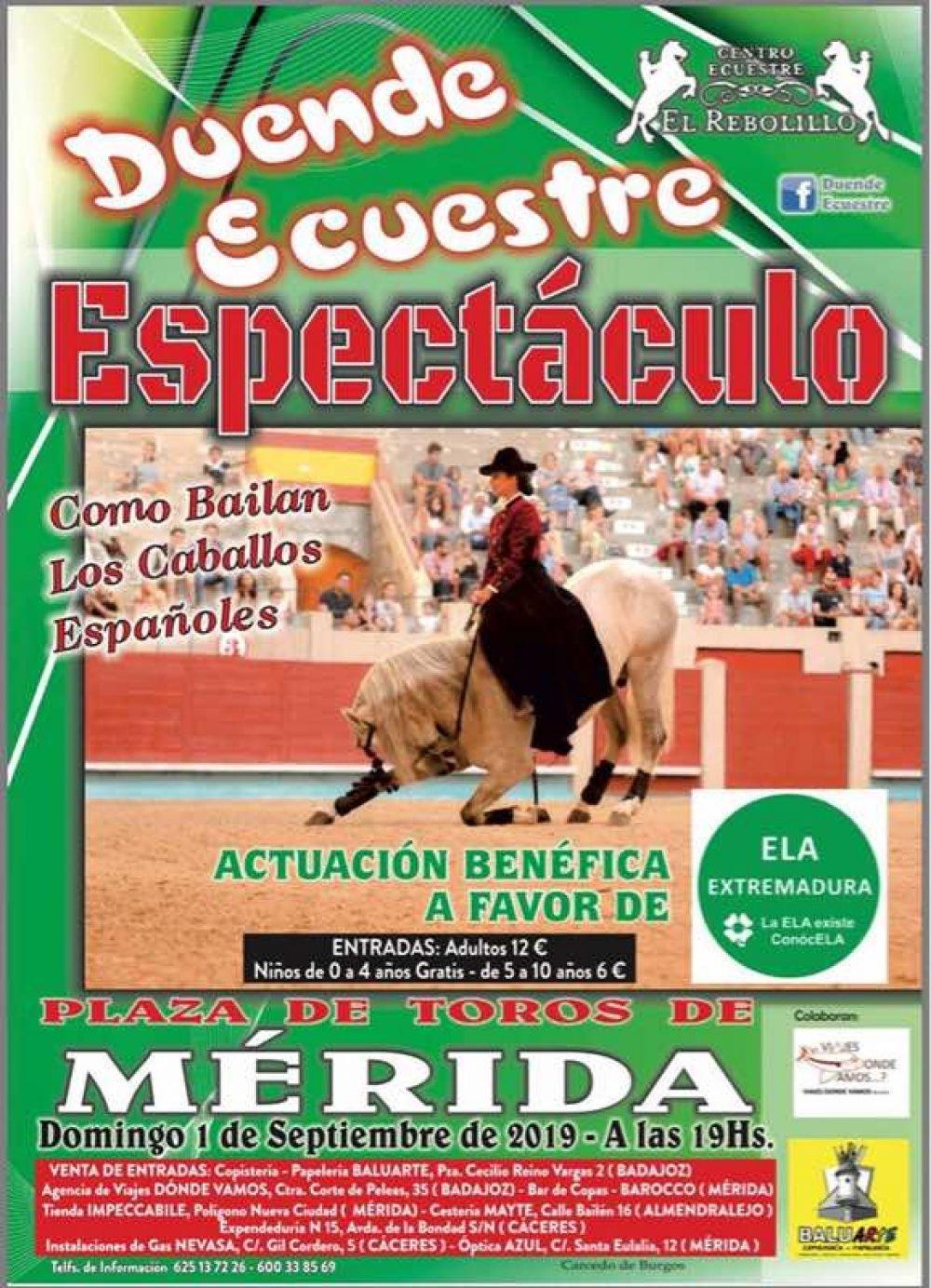 Duende ecuestre.¡Como Bailan los Caballos Españoles!