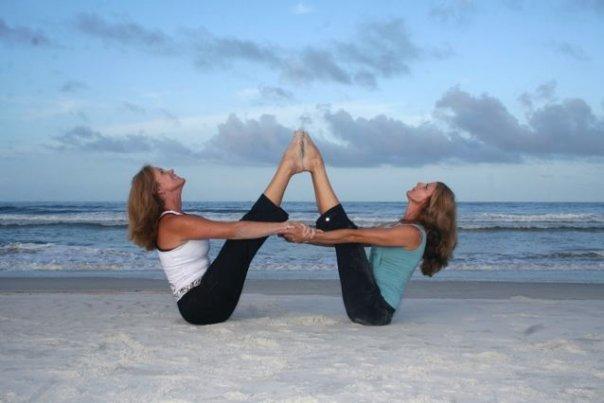 Hatha Yoga + Yoga em Dupla