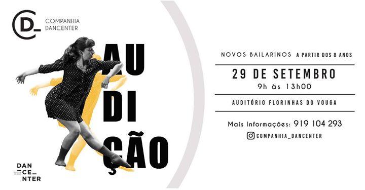 Audição Companhia Dancenter Temporada 19/20