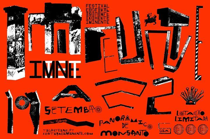 Festival Iminente 19/20/21/22 Setembro - Panorâmico de Monsanto