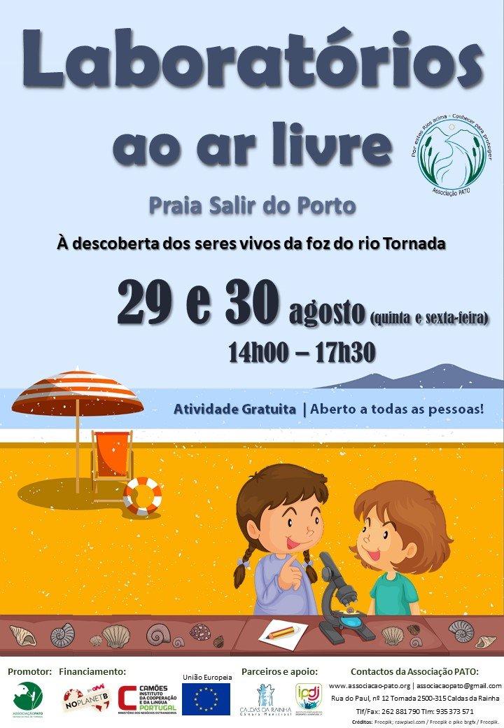 Laboratórios ao ar livre - Praia Salir do Porto