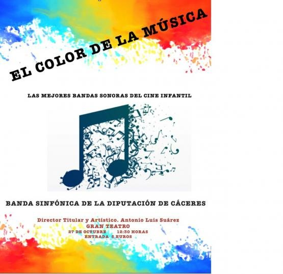 EL COLOR DE LA MUSICA