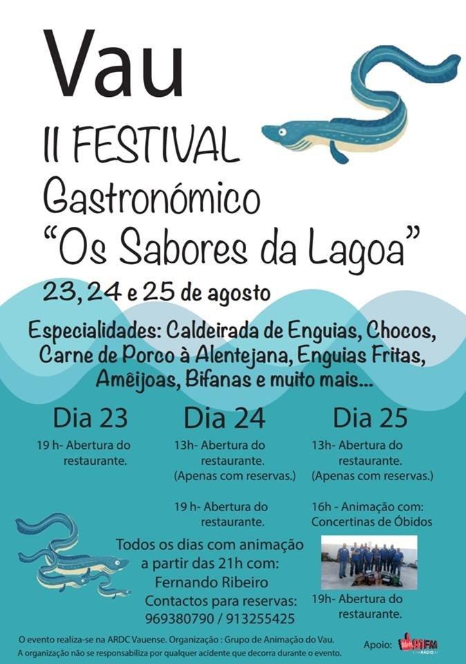 II Festival Gastronómico «Sabores da Lagoa»