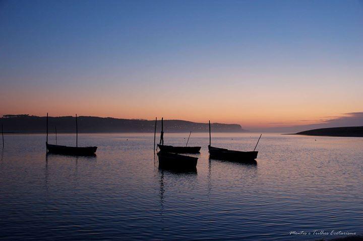 Lagoa de Óbidos ao Pôr do Sol