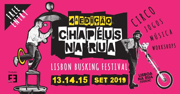 Chapéus Na Rua | Lisbon Busking Festival