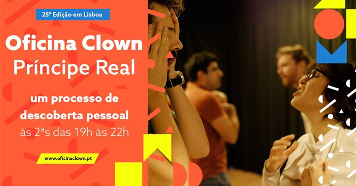 Oficina Clown no Príncipe Real