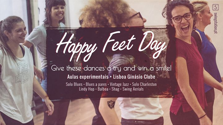 Aulas Experimentais • Happy Feet Day