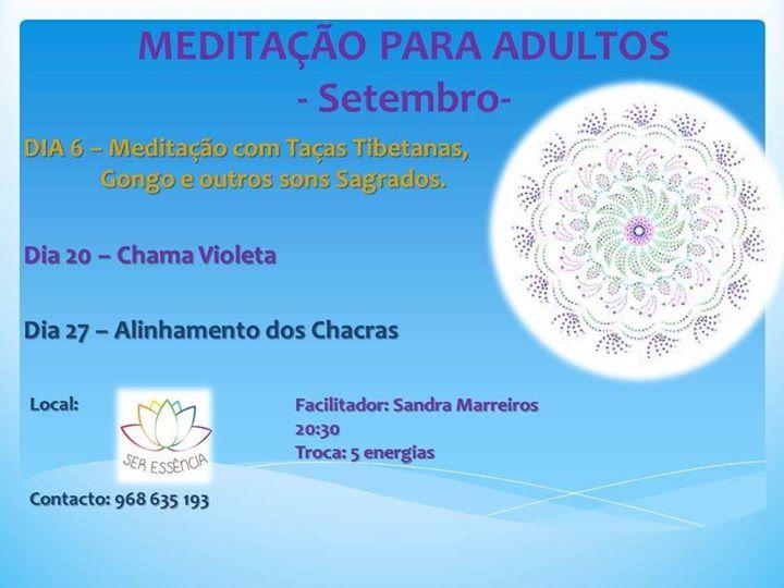 Meditação PARA Adultos