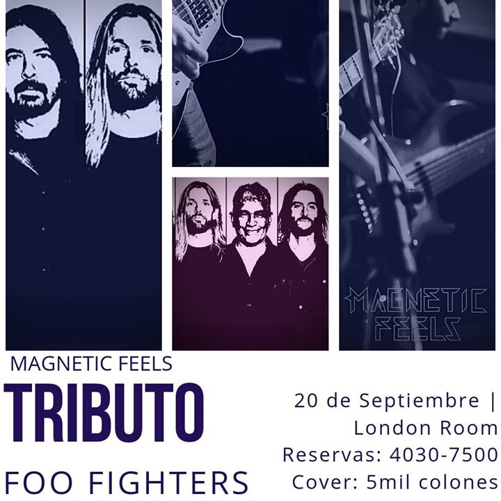 Foo Fighters Tributo por Magnetic Feels