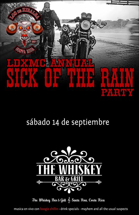 LDXMC Sick of the Rain Party