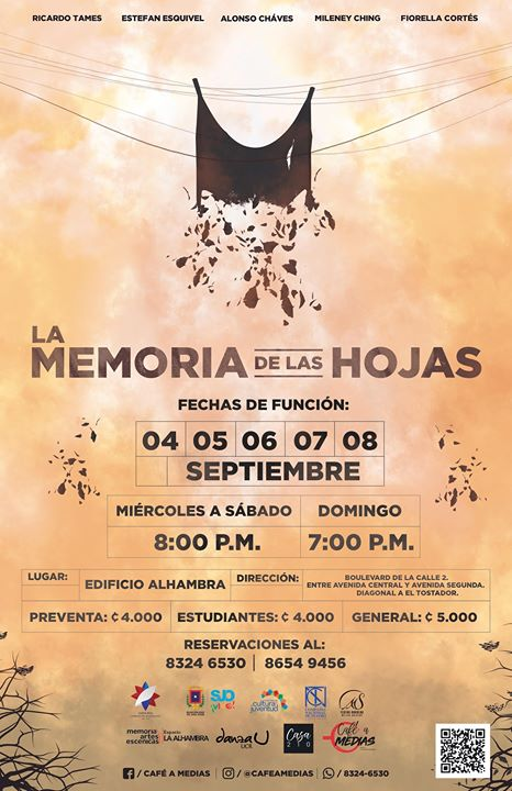 La Memoria de las Hojas va para México