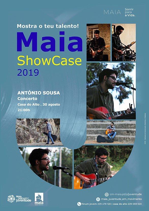MAIA SHOWCASE COM CONCERTO DE ANTÓNIO SOUSA