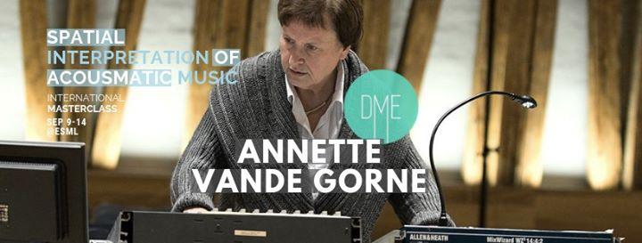 Masterclass com Annette Vande Gorne - Concerto# 1