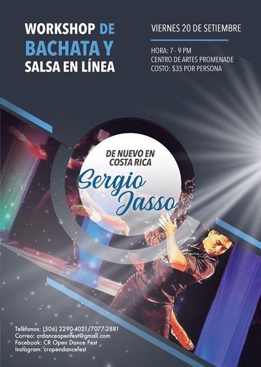 Taller de Sergio Jasso (Salsa en linea y Bachata)