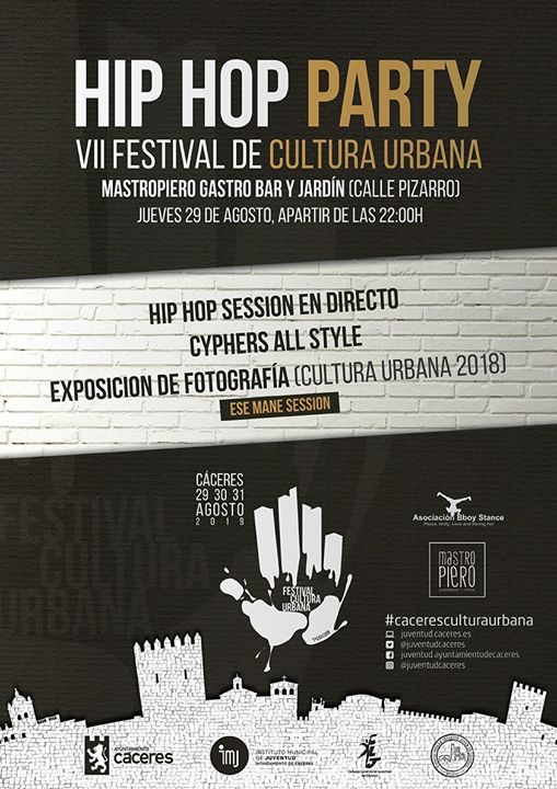 Hip Hop Party - VII Festival de Cultura Urbana