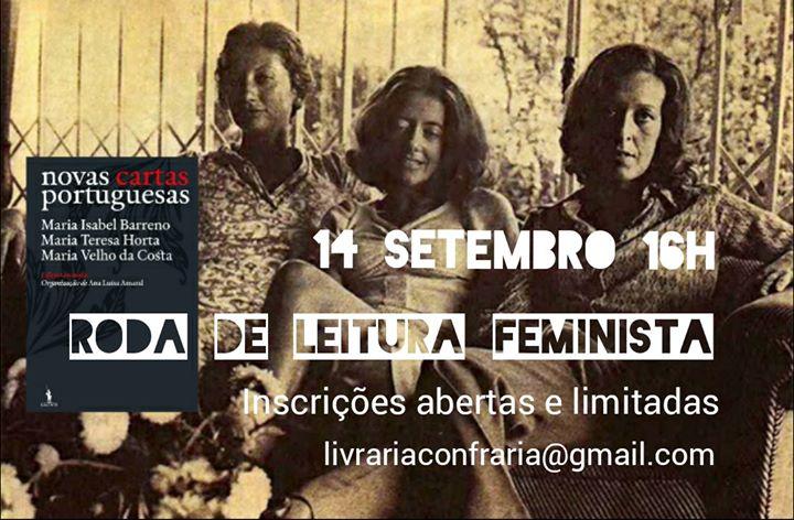 Roda de leitura Feminista Setembro