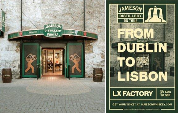 Jameson traz destilaria a Lisboa