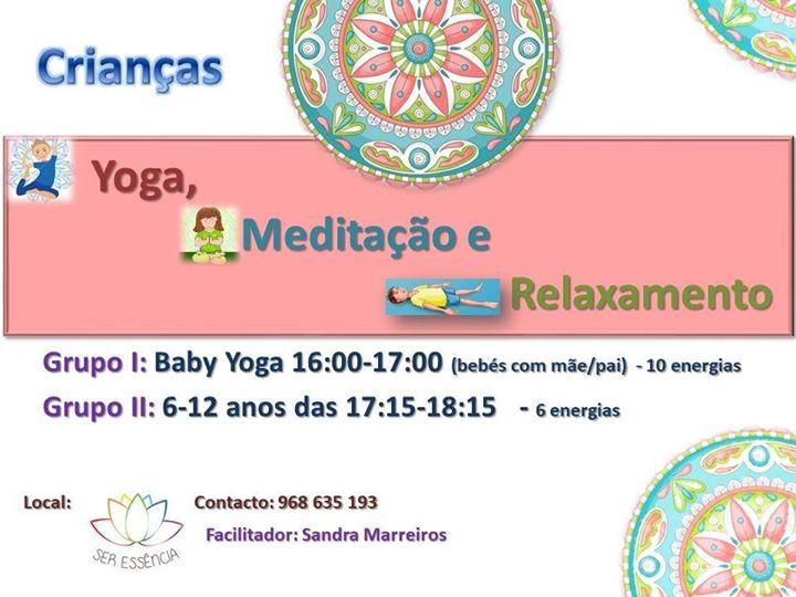 Yoga, Meditação e Relaxamento Para crianças