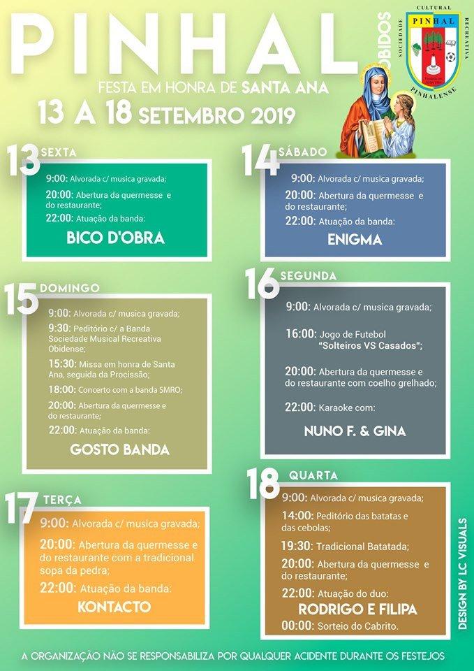 Festa em Hora de Santa Ana 2019   PINHAL