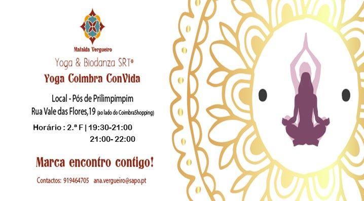 Coimbra ComVida - Yoga - novo ano lectivo