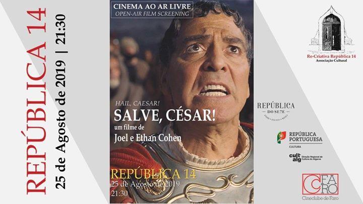 Há Cinema na República - Salve, César! de Joel e Ethan Coen