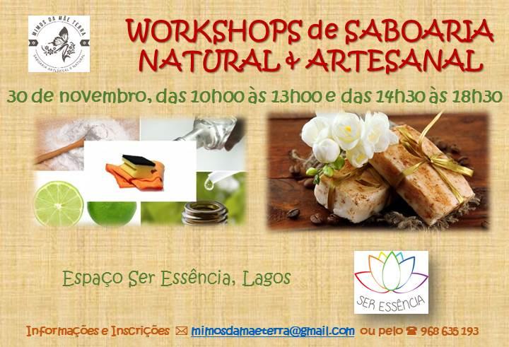 Workshop de Saboaria Natural & Artesanal