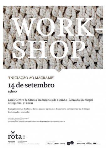 Workshop: Iniciação ao Macramé