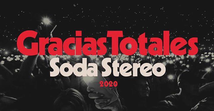 Soda Stereo Gracias Totales Costa  Rica 2020 (Evento Oficial)