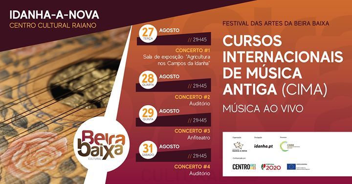 Concertos - Cursos Internacionais de Música Antiga