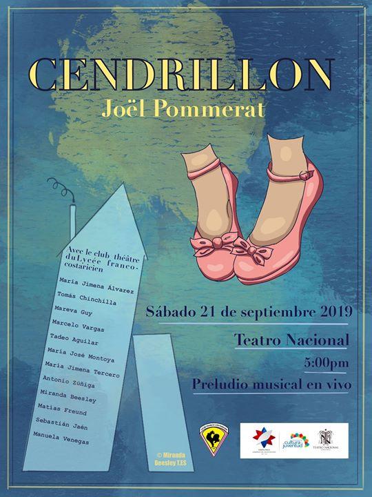 Cenicienta en el Teatro nacional (club teatro del liceo Franco)