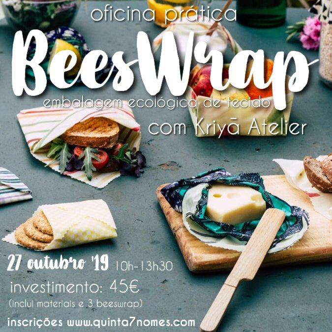 Oficina BeesWrap - Embalagem Ecológica de Tecido